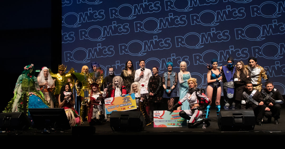 Romics | Comics, Animation, Games and much more